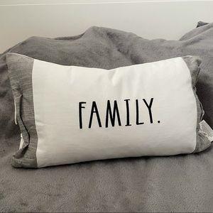 Rae Dunn Family Pillow